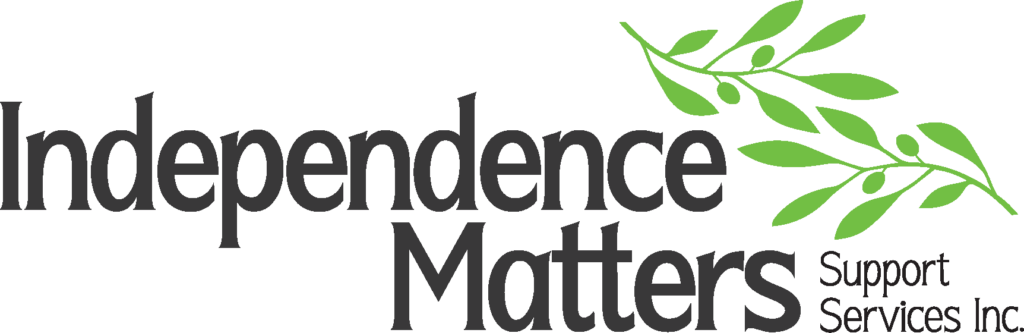 Independence Matters Logo - In Home Caretakers and services for elderly and seniors in Maple Ridge, Pitt Meadows, and Langley.
